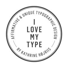 I LOVE MY TYPE Logo