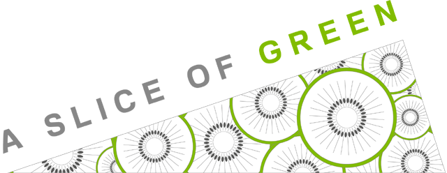 A Slice of Green Logo