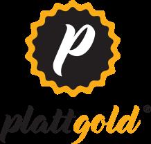 Plattgold Logo