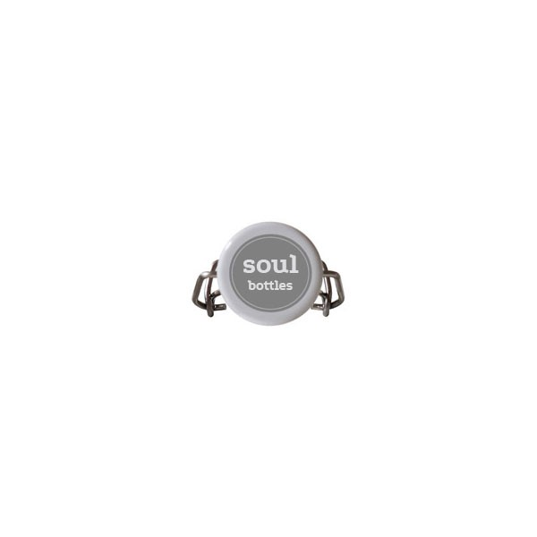 soulbottle b gelverschluss grau von soulbottles. Black Bedroom Furniture Sets. Home Design Ideas