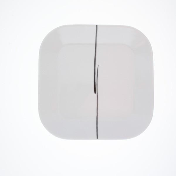 Quadratische Servierplatte CUMULUS Dekor Osaka (22x22 cm) von Kahla - Bild 1